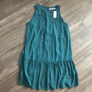 Flowy Turquoise Dress